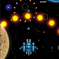 Spaceship Survival Shooter || 8,614x played